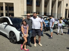 Mais uma com o amigo Ramiro e minha filha.