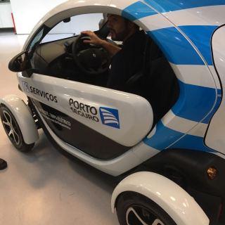 Um dos veículos da Porto Seguro que estará no encontro do posto Graal