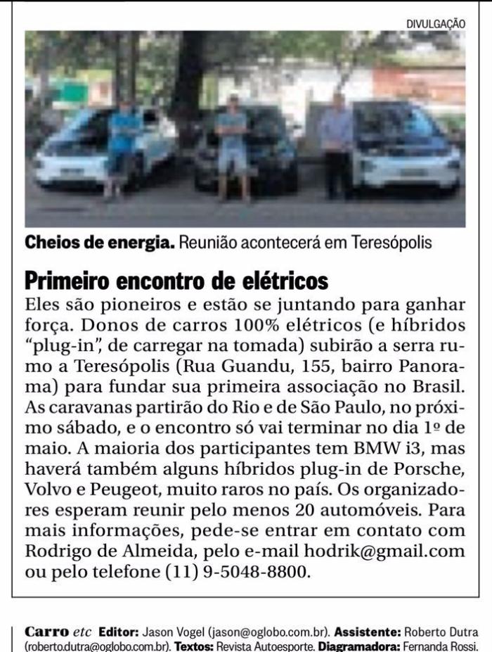 Nota O Globo