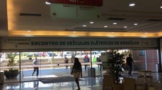 Brasília Shopping dando apoio ao Encontro.