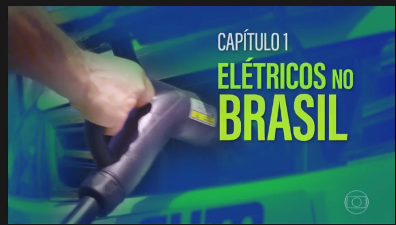 Mobilidade elétrica na TV Globo