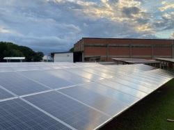 Usina solar na Alsol